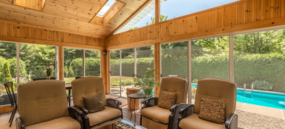 Screened In Porches Are A Great Addition To Many Homes They Provide Nice Compromise By Providing What Is Still Very Much An Outdoor Space