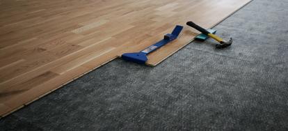 Soundproofing A Floor Under Laminate Floor Wood Part 1