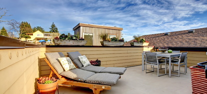 How To Build A Deck On A Flat Roof Doityourself Com