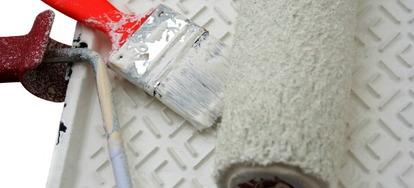 Tips For Choosing And Applying Basement Floor Paint DoItYourselfcom - Cost effective basement flooring