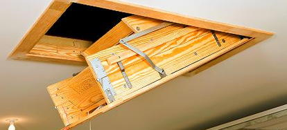 How To Install Pull Down Attic Stairs How To Install Pull Down Attic Stairs