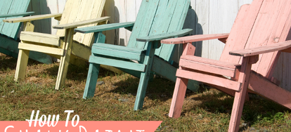 Chalk Paint Is The New Way To Achieve A Vintage, Aged, Or Rustic Look When  Painting Your Indoor Furniture Projects. The Nice Thing About It Is That It  ... Part 17