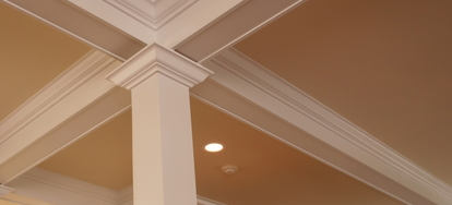 Painting Your Crown Molding Puts The Finishing Touch On A Room Whether You Re Using Contrasting Color Or Blending In With Walls And Ceiling