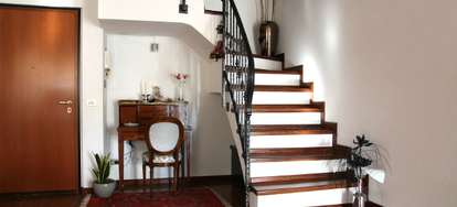 from paints to tape rubber vinyl and even carpet there are all kinds of options to make sure that your wood stairs are not dangerous for anyone to walk - Wooden Stairs