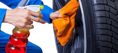 how to clean the rims of your car