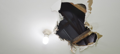 How To Patch A Drywall Ceiling
