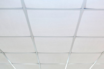 once youve collected all your needed supplies remove all movable items from the room containing the suspended ceiling tiles place the drop cloth on the - Painting Drop Ceiling Tiles