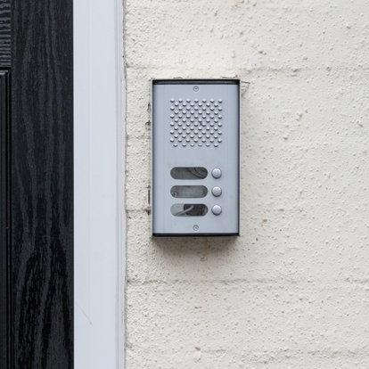 An Apartment Intercom Buzzer