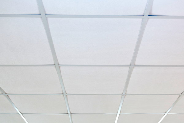How To Paint Suspended Ceiling Tiles