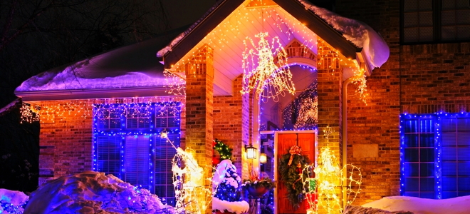 How to Attach Christmas Lights to Brick - How To Attach Christmas Lights To Brick DoItYourself.com