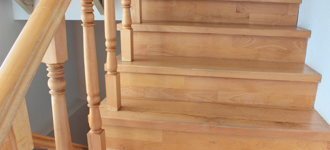 How To Stain Stairs Doityourself Com