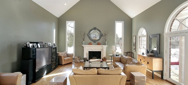 Constructing a vaulted ceiling for How to paint a vaulted ceiling room