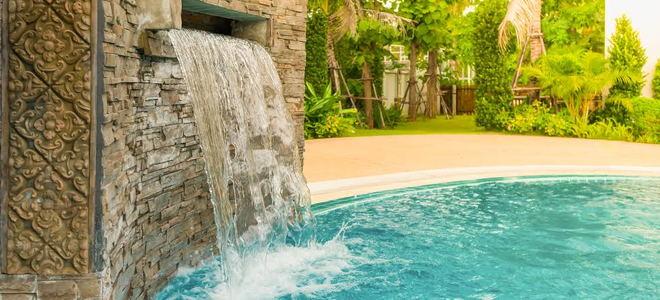 Pool Waterfall Maintenance | DoItYourself.com