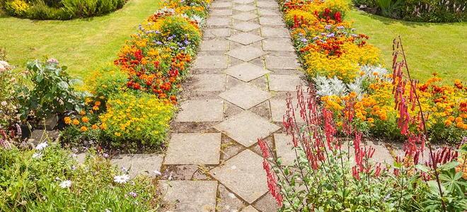 1. Create a Flower Border