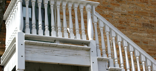 How To Paint An Exterior Staircase Doityourself