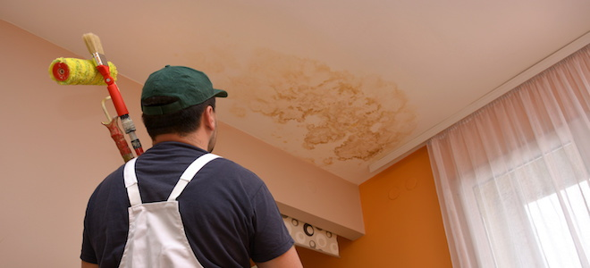 How To Remove A Ceiling Water Stain