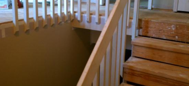 How to refinish wood stair treads for Diy wood stairs