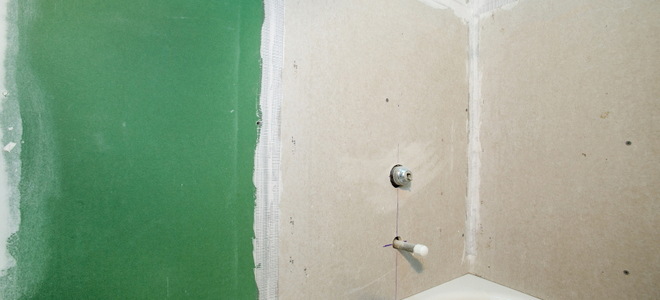 Bathroom Drywall Installation
