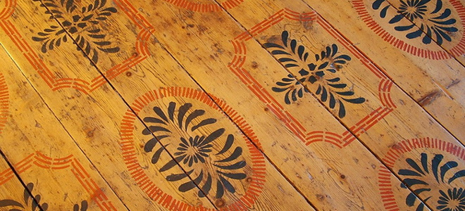 How To Stencil Your Wood Floor