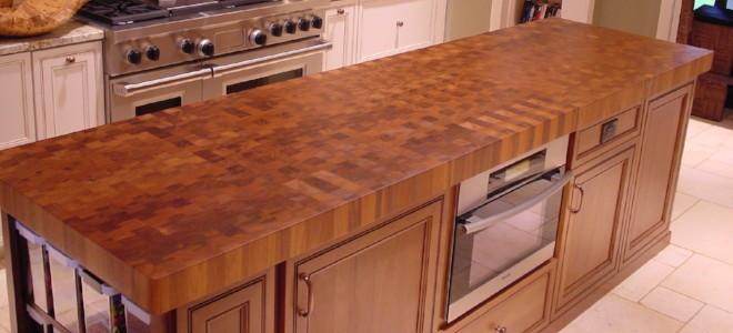 Install A Butcher Block Countertop