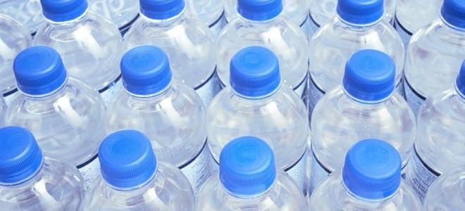 lots of water bottles