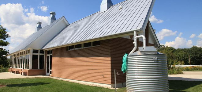 How To Harvest Water Using A Rainwater Cistern