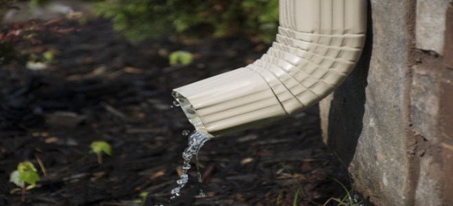 How To Install A Rain Gutter Downspout Doityourself