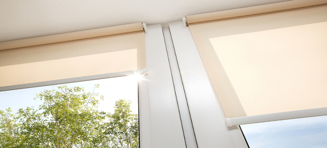Do It Yourself Window Treatments: How To Paint Your Roller Window Shades
