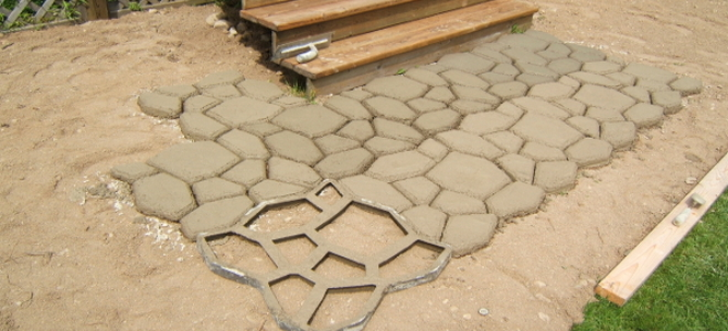 Concrete Sidewalks Do It Yourself : The pros and cons of decorative concrete sidewalks
