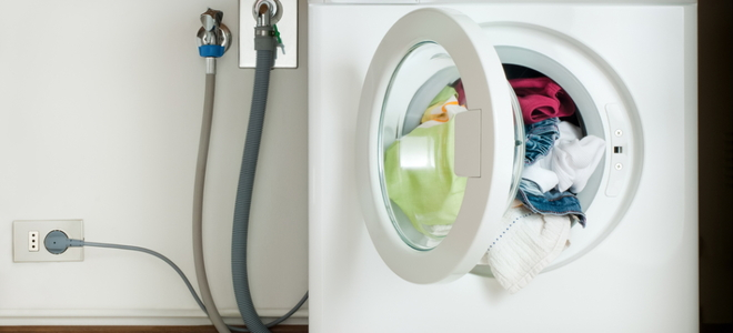 how to manually drain a washing machine