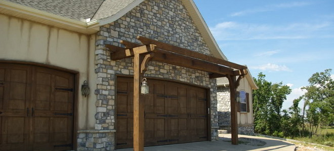 & How to Construct a Garage Door Arbor or Pergola | DoItYourself.com