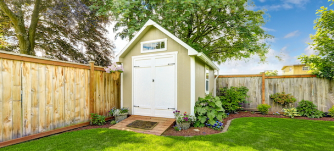 Tool Shed Makeover