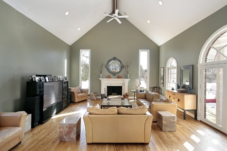 Constructing A Vaulted Ceiling Doityourself Com