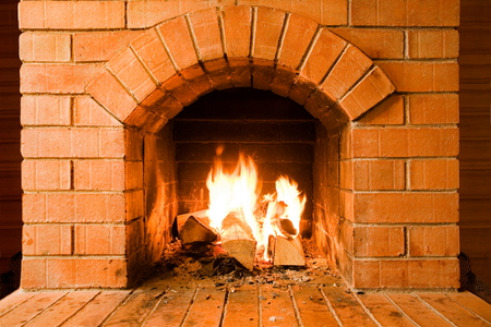 Building an Indoor Masonry Fireplace with a Kit ...