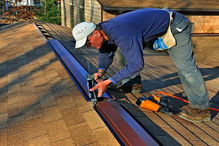 How To Install A Tile Roof Ridge Vent Doityourself Com