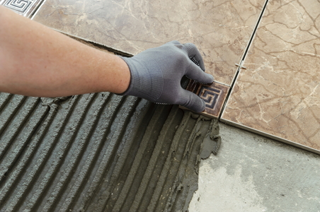 Can i lay ceramic tile over linoleum for Classification colle carrelage