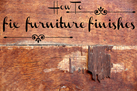 How To Fix Furniture Finishes Doityourself Com