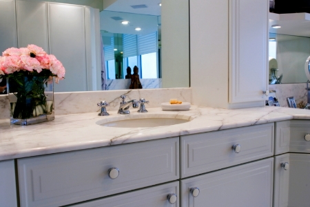 Update your bathroom vanity paint it for Replace bathroom countertop