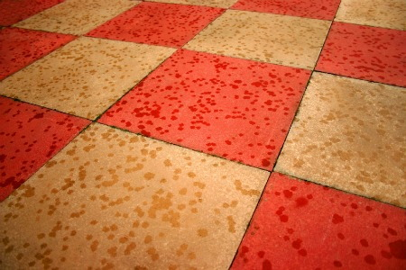 Painted concrete floor designs for Do it yourself flooring