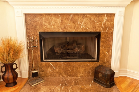 Install A Marble Hearth And Wood Fireplace Surround Part 1