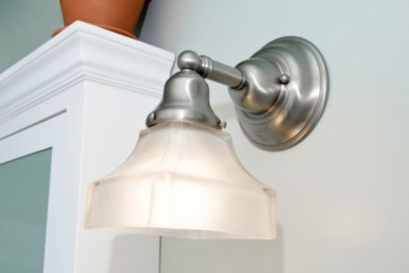 How To Replace Your Bathroom Vanity Light Fixture