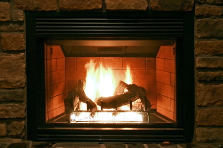 How to clean a stone fireplace hearth doityourselfcom for Stone fireplace hearth cleaning