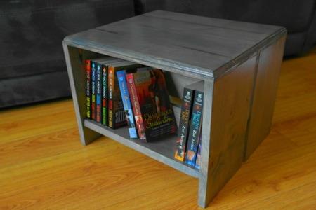 How To Build A Bookshelf Footstool Doityourself Com