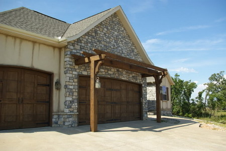 How To Construct A Garage Door Arbor Or Pergola
