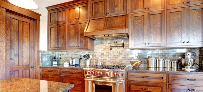 How To Refinish Plywood Cabinets Doityourself Com