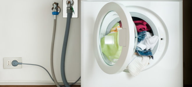 How to Replace a Washing Machine Drain Hose   DoItYourself.com