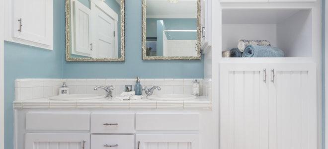 How To Hang A Bathroom Mirror Doityourself Com
