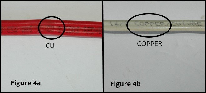 two types of thin, wide wire