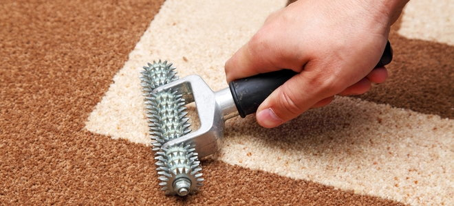 hand tools that roll over carpet seams