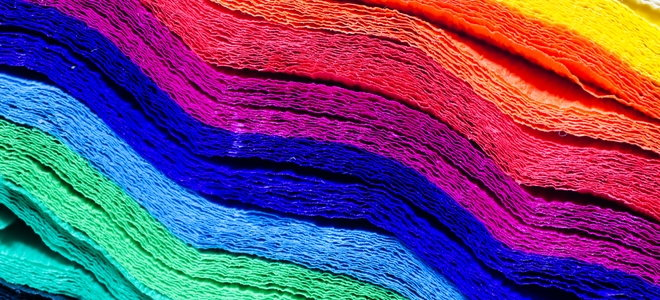 colorful tissue